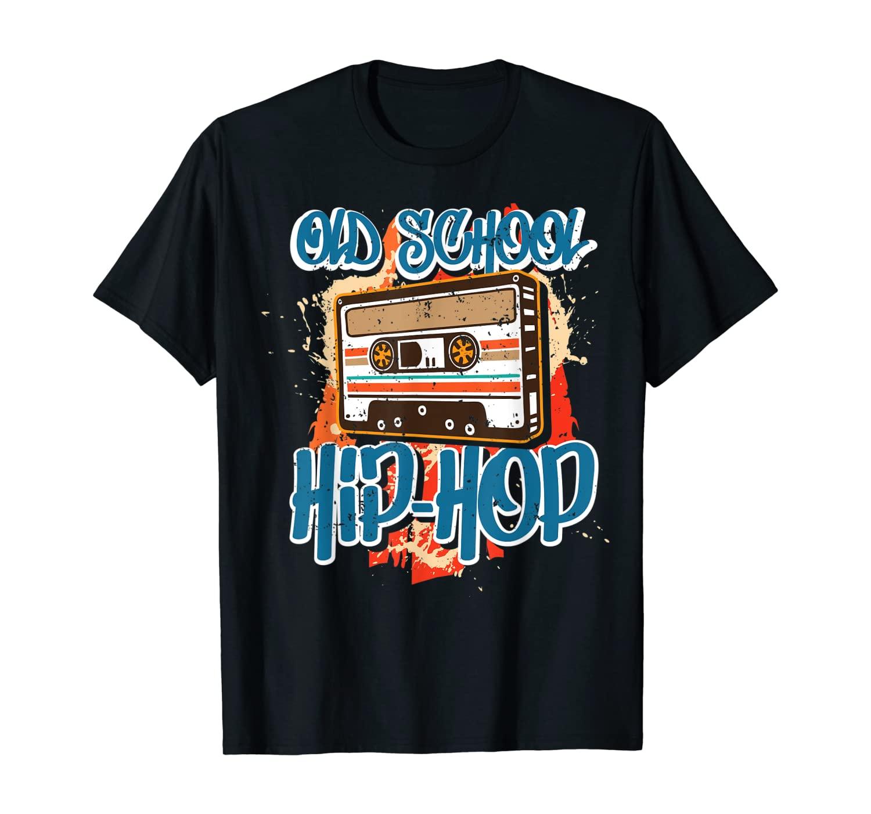 Retro Old School Hip Hop 80s 90s Graffiti Cassette Gift T-Shirt
