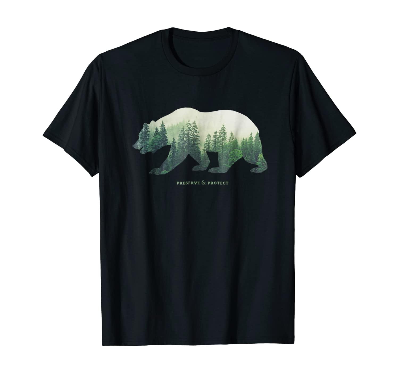 Preserve & Protect T-Shirt Vintage National Park Bear Shirt