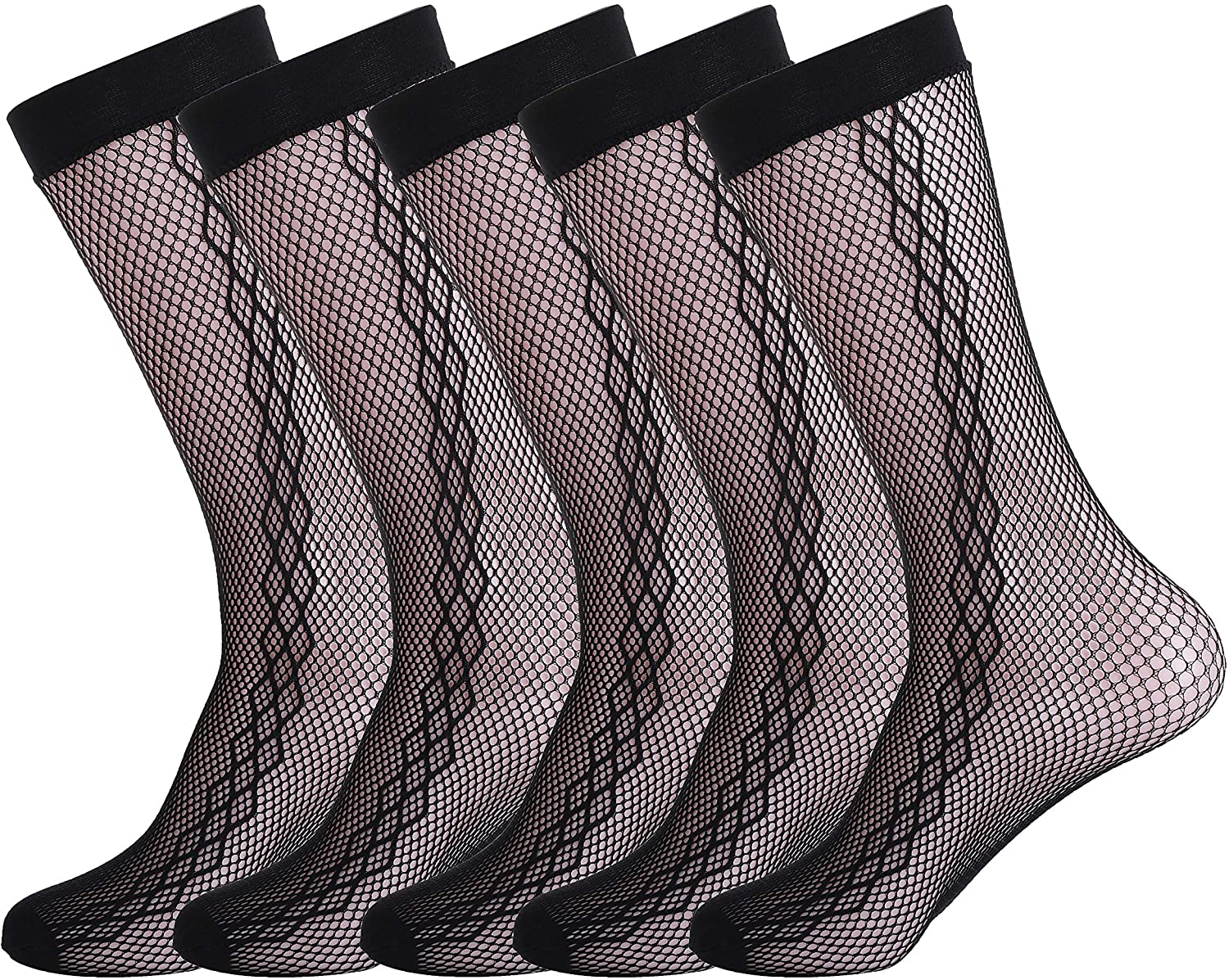 Womens & Mens Mesh Dress Socks