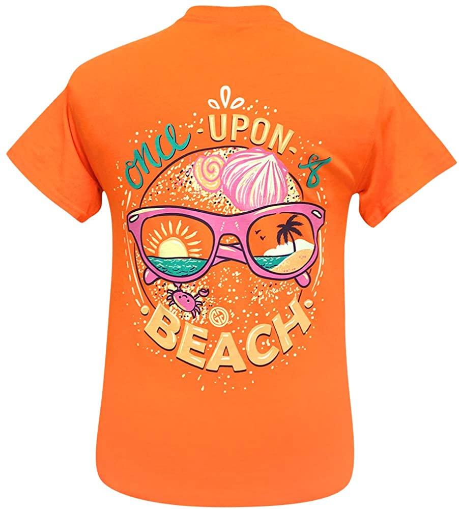 Girlie Girl Original Once Upon a Beach Short Sleeve T-Shirt Adult