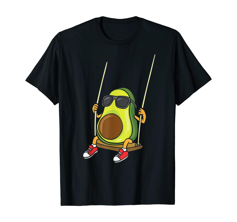Funny Swinging Avocado Swinger T-Shirt
