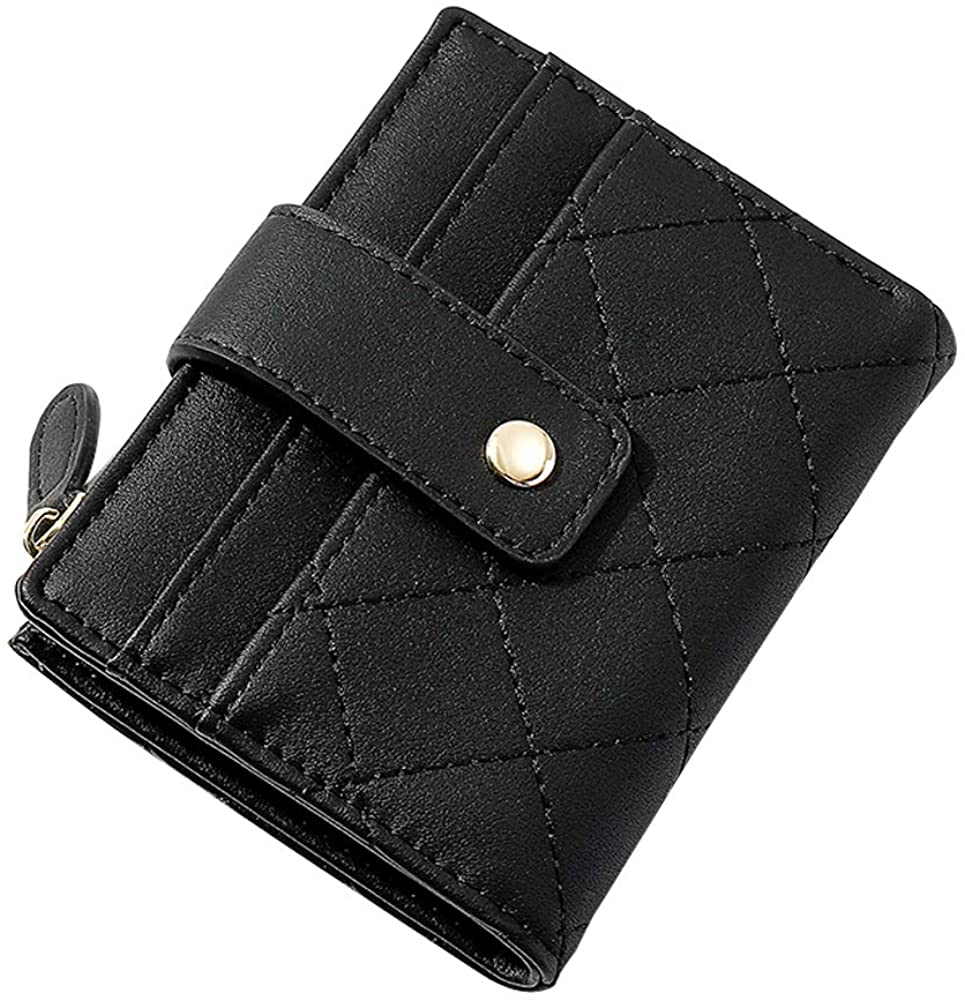 Aeeque Women Wallet Credit Card Holder Organizer Leather Coins Purse Zipper Bag