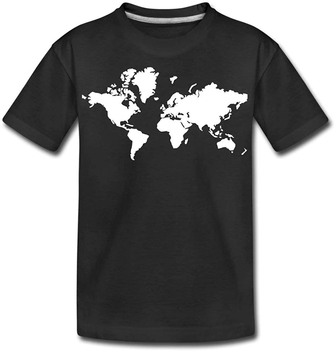 World map Kids Premium T-Shirt