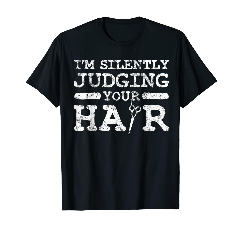 Hairstylist Hairdresser Hairstyling Vintage T-Shirt