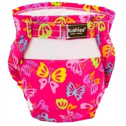 Kushies Ultra Lite All in One Diapers - Toddler - Butterfly