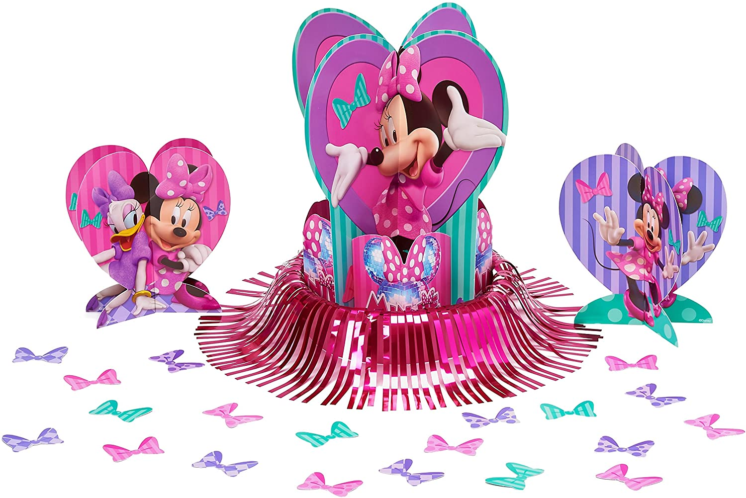 American Greetings Minnie Mouse Party Supplies, Table Decorations, 23-Count