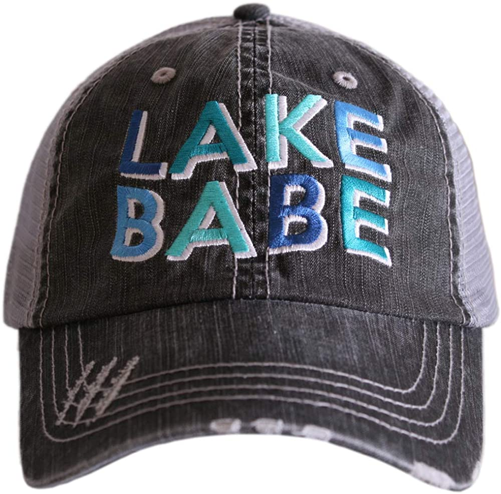 KATYDID Lake Babe Baseball Cap - Trucker Hat for Women - Stylish Cute Sun Hat