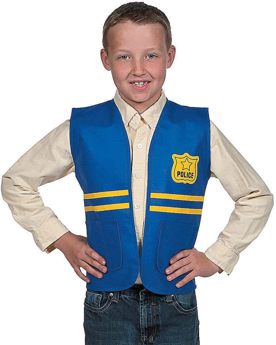 Fun Express - Police Vest - Apparel Accessories - Costume Accessories - Costume Props - 1 Piece