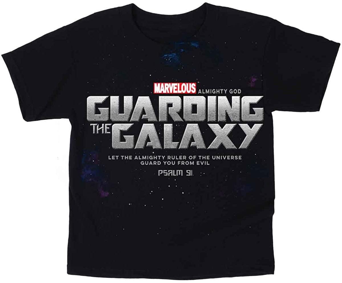 Kerusso Kids Guarding The Galaxy T-Shirt - Black -