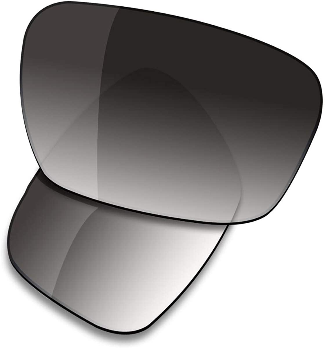 Saucer Premium Replacement Lenses for Oakley Badman OO6020 Sunglasses
