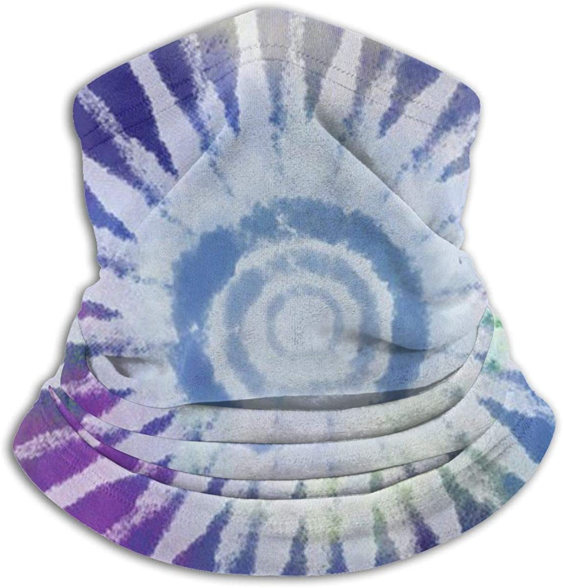 Laser Tie Dye Face Mask Comfortable Bandanas, Breathable Face Mask, Breathble Muffle With Filter