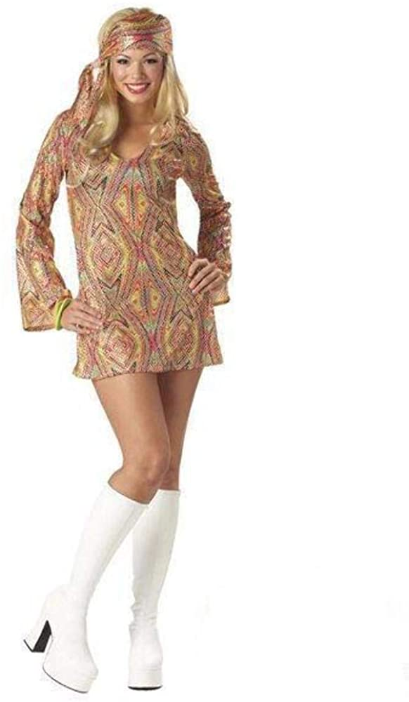 Disco Dolly Costume - Adult - Medium