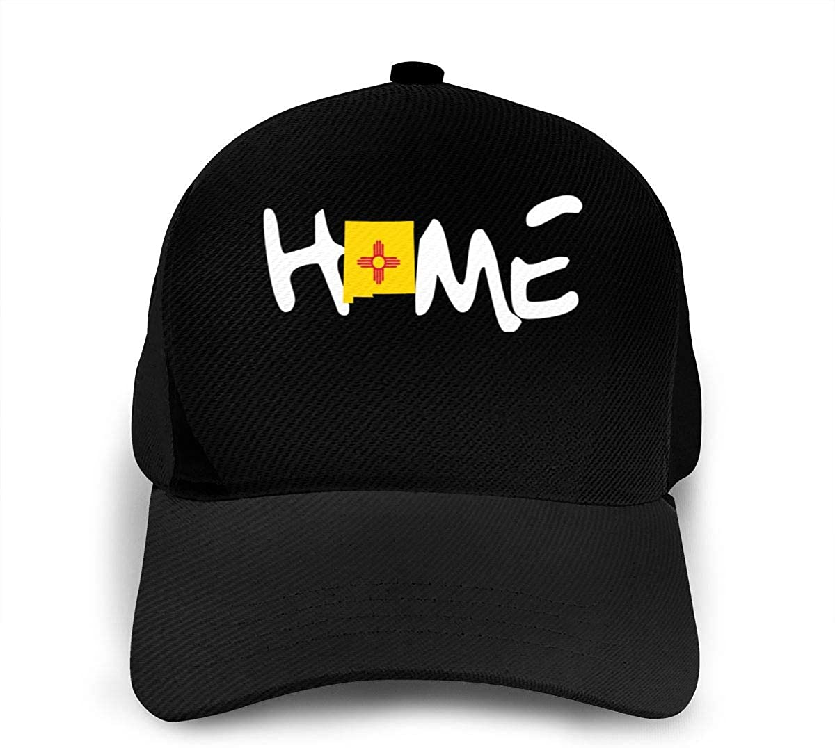 Classic Baseball Cap The Flag Map of New Mexico is My Home Men Women Golf Hats Adjustable Plain Cap