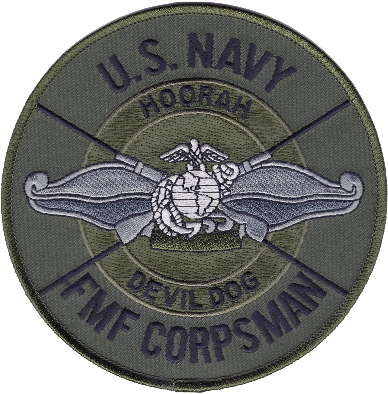 FMF Fleet Marine Force Corpsman Patch Devil Dog