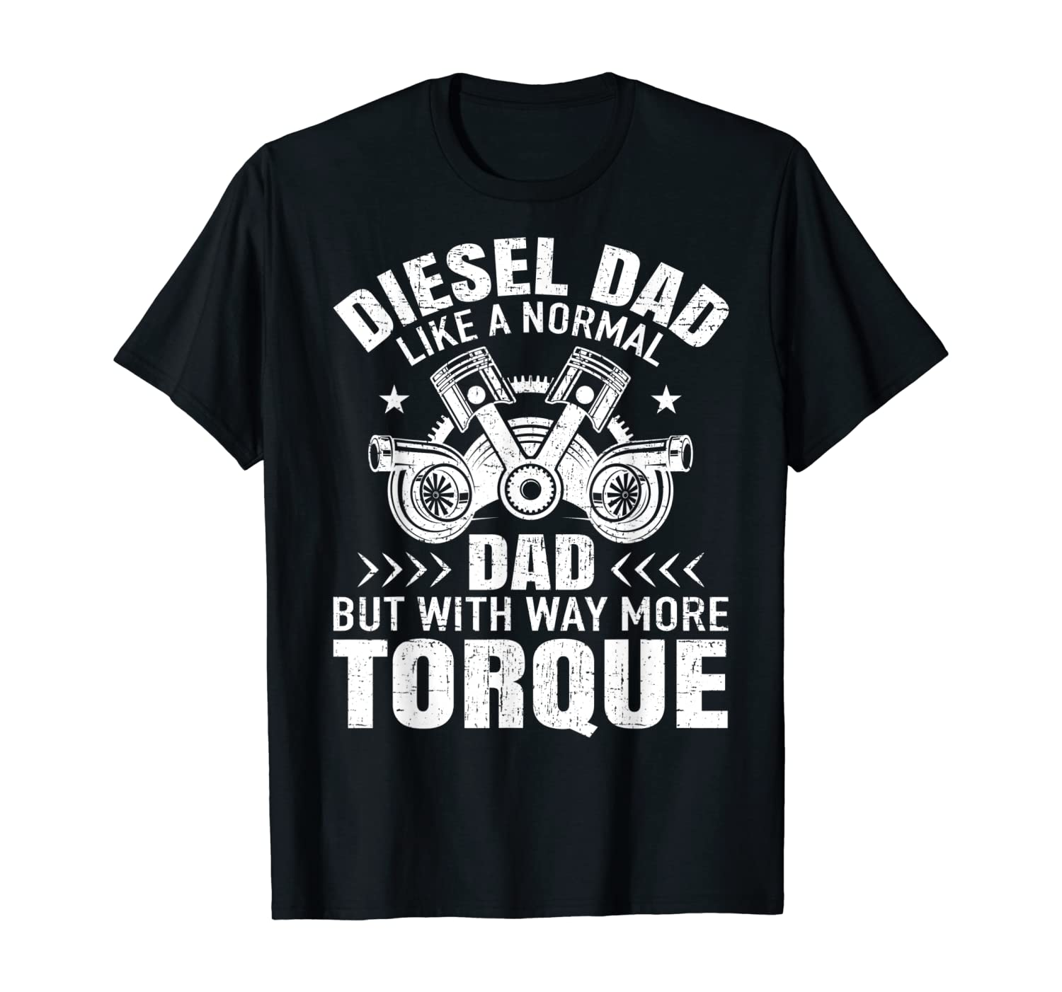 Diesel Mechanic Dad Automobile Fathers Day Funny Gift T-Shirt