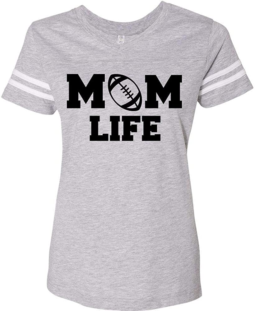 Football Mom Life Varsity T-Shirt Women's