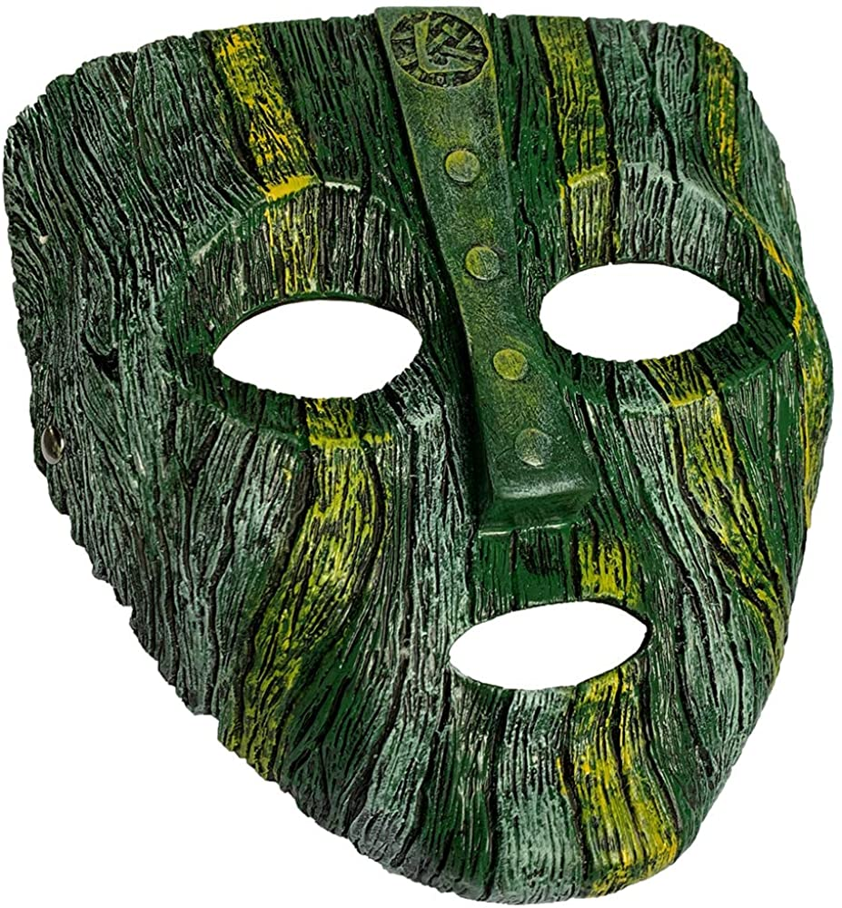 Jim Carrey The Mask Deluxe Loki Latex Mask Halloween Fancy Dress Costume Green