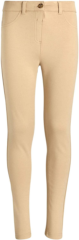 CHEROKEE Girls School Uniforms - Ponte Performance Khaki Pants