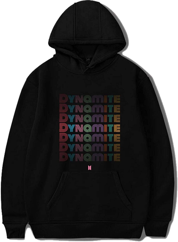 CHAIRAY Kpop BTS Album Dynamite Hoodie Jimin Jungkook Suga V Sweatshirt