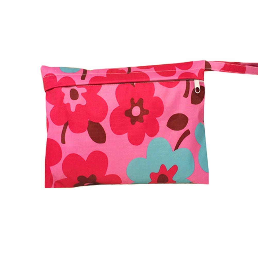 Travel Cloth Diaper Wet Bags Waterproof Diaper Bag Nappy Bag(2818CM, A)