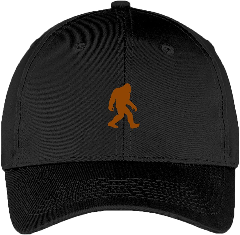Sasquatch - Yeti Bigfoot Camping Outdoors Adjustable Baseball Cap Dad Hat