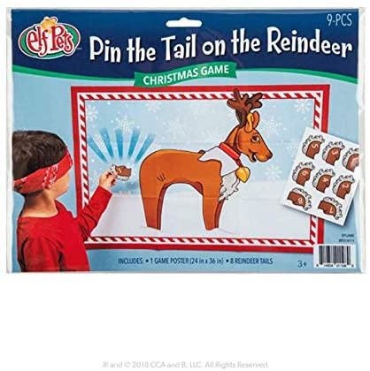 The Elf on the Shelf Pin The Tail on The Reindeer Game