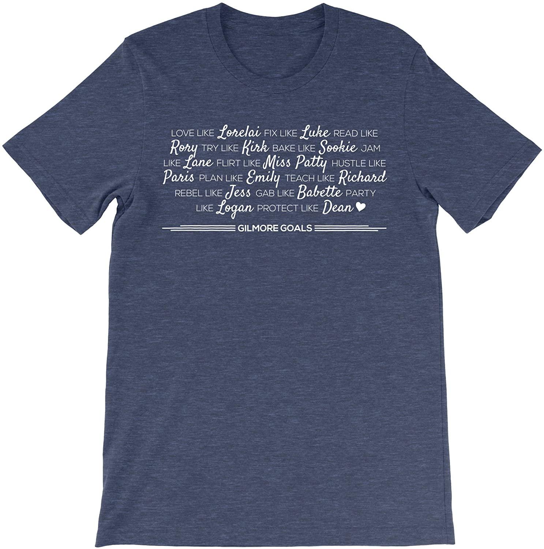 Urban Tee Farm Gilmore Goals - Gilmore Girls Tshirt