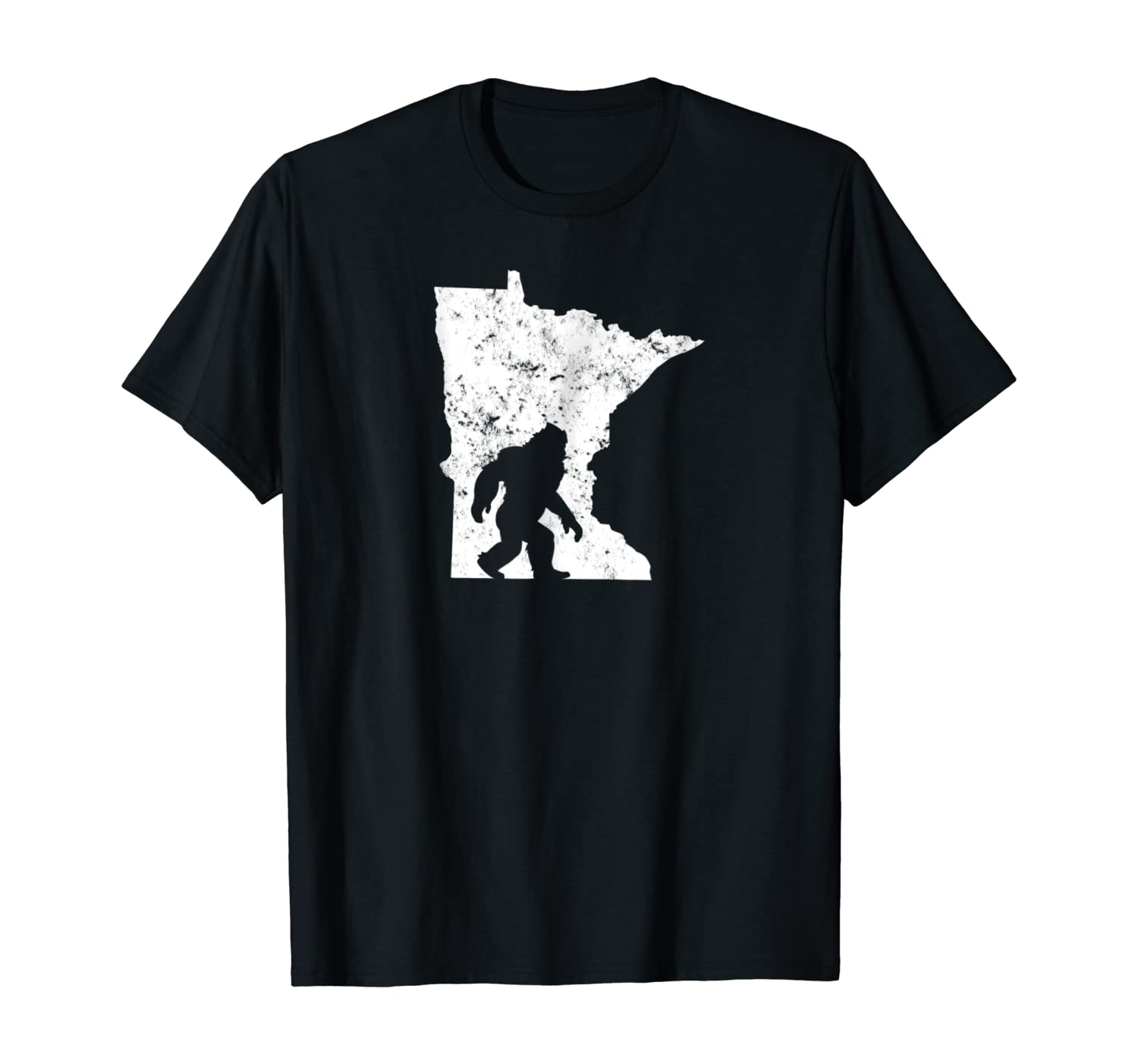Bigfoot Sasquatch Sighted In State Of Minnesota T-Shirt