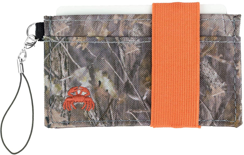 Crabby Gear - Front Pocket Wallet - Minimalist Wallet - Canvas