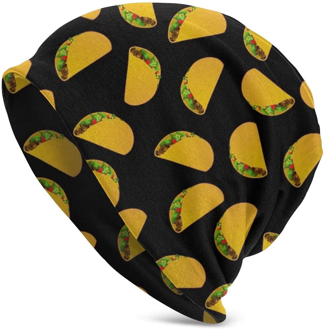 Taco Pattern Winter Fashion Beanie Hat Warm Adult Innocent Urinal Cap