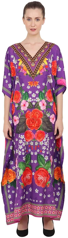 Miss Lavish London Kaftan Dress - Caftans for Women - Women's Caftans Long Maxi Style Dresses