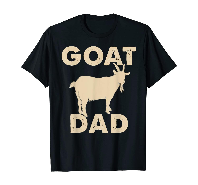 Mens Funny Goat Dad T-Shirt