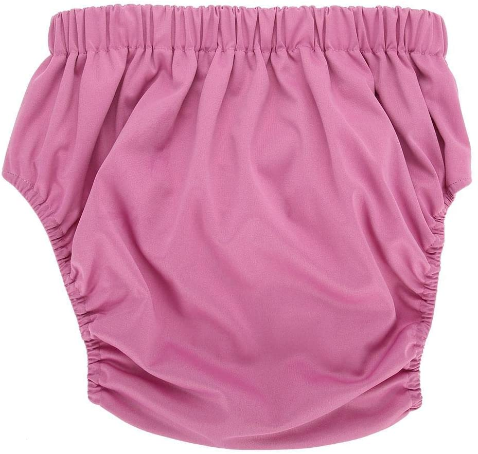 Diapers for Adults, 1pc Diapers Adjustable Diaper, Washable and Reusable, for The Elderly (Pink)