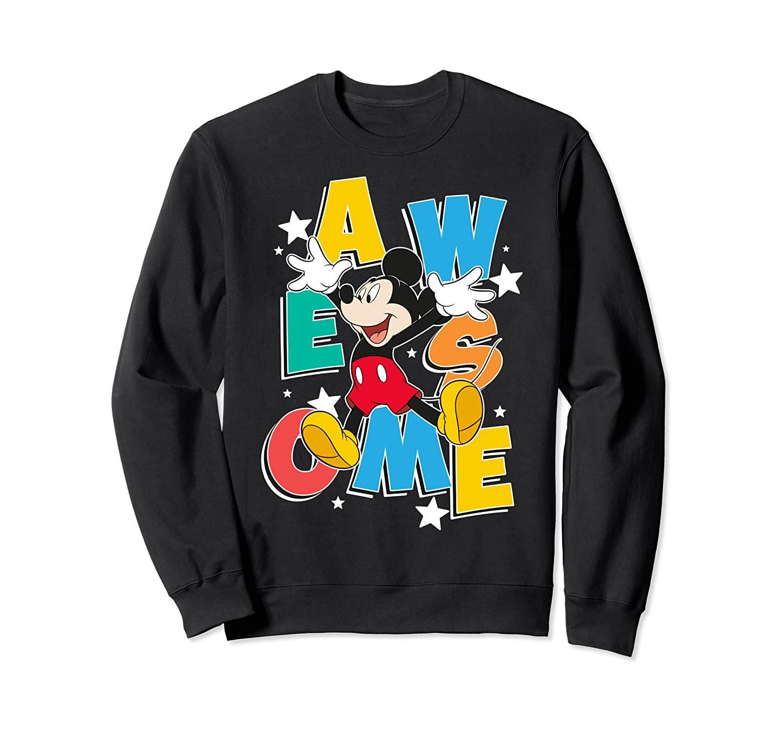 Disney Mickey Mouse Awesome Portrait Sweatshirt