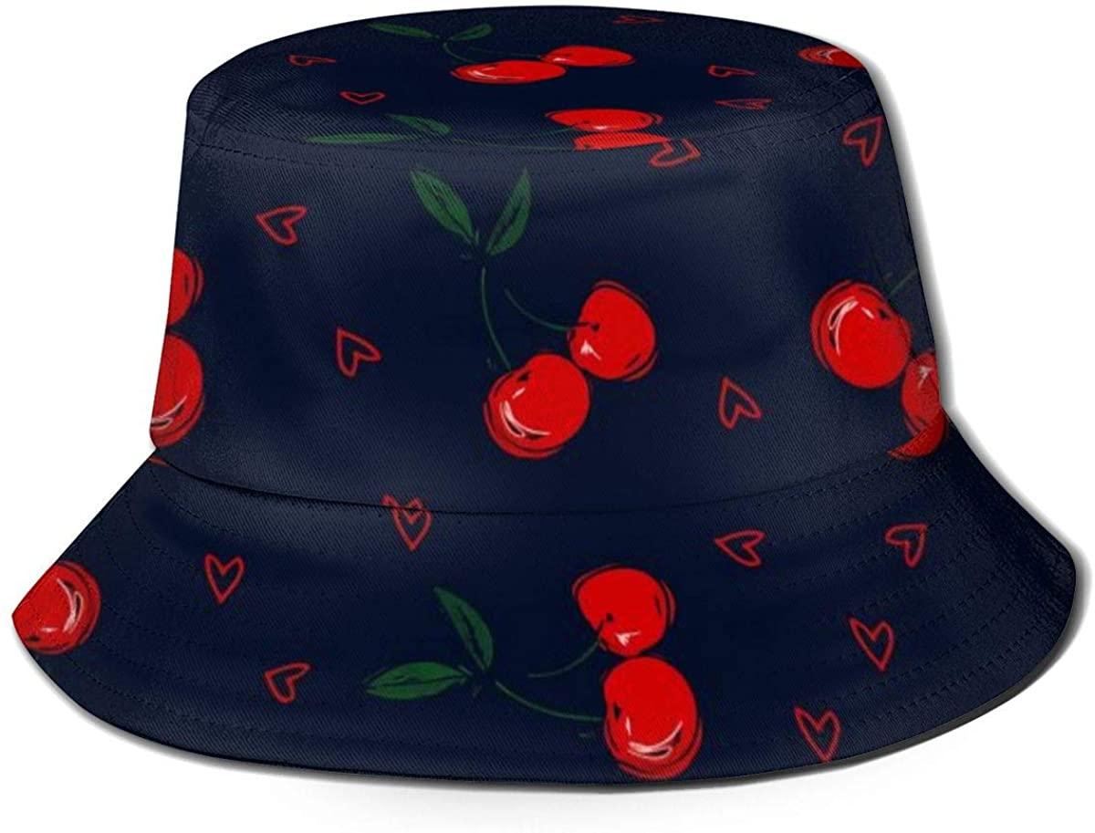 GIPHOJO Bucket Hat Travel Beach Cap Outdoor Cap Cap Summer Sun Hat Beret Gift