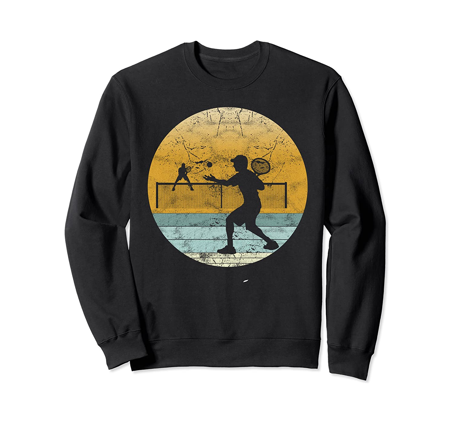 Retro Tennis Vintage Style Sport Player Gift for Men & Women Sweatshirt