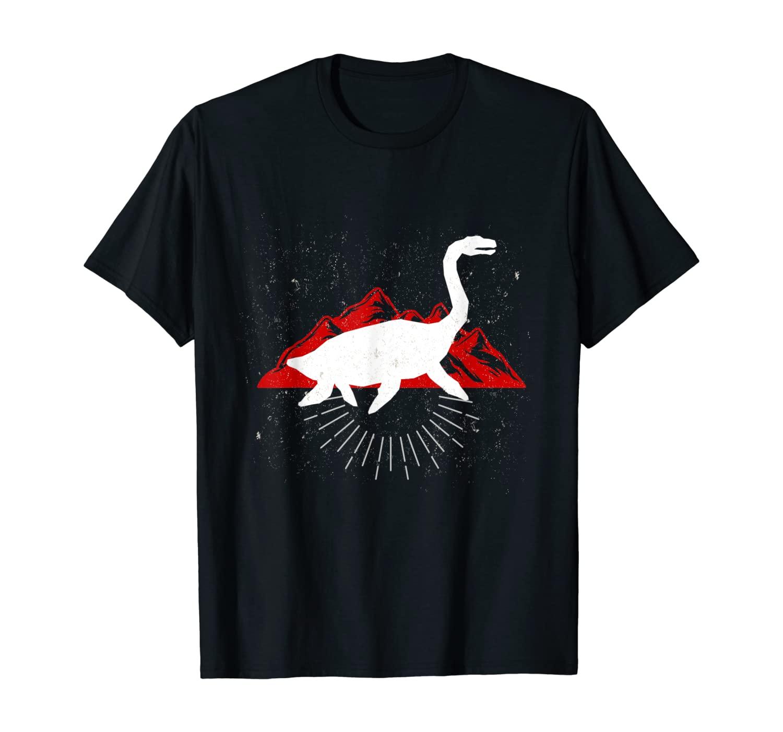 Plesiosaurus Dinosaurs Gift for Jurassic Lovers & Park Fans T-Shirt