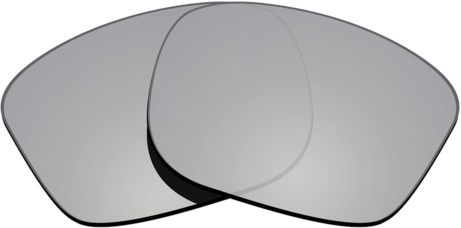 Glintbay 100% Precise-Fit Replacement Sunglass Lenses for Oakley Sliver OO9262