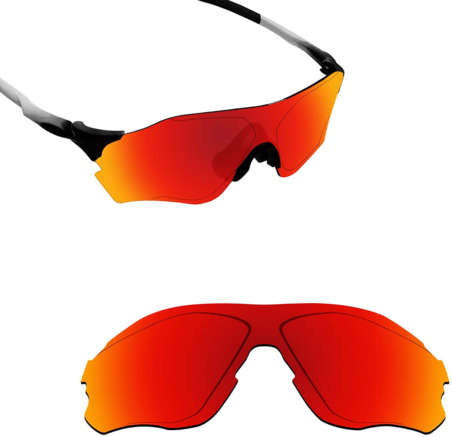 Alphax Polarized Replacement Lenses/Accessories for Oakley EVZero Path OO9308 - Multiple Options
