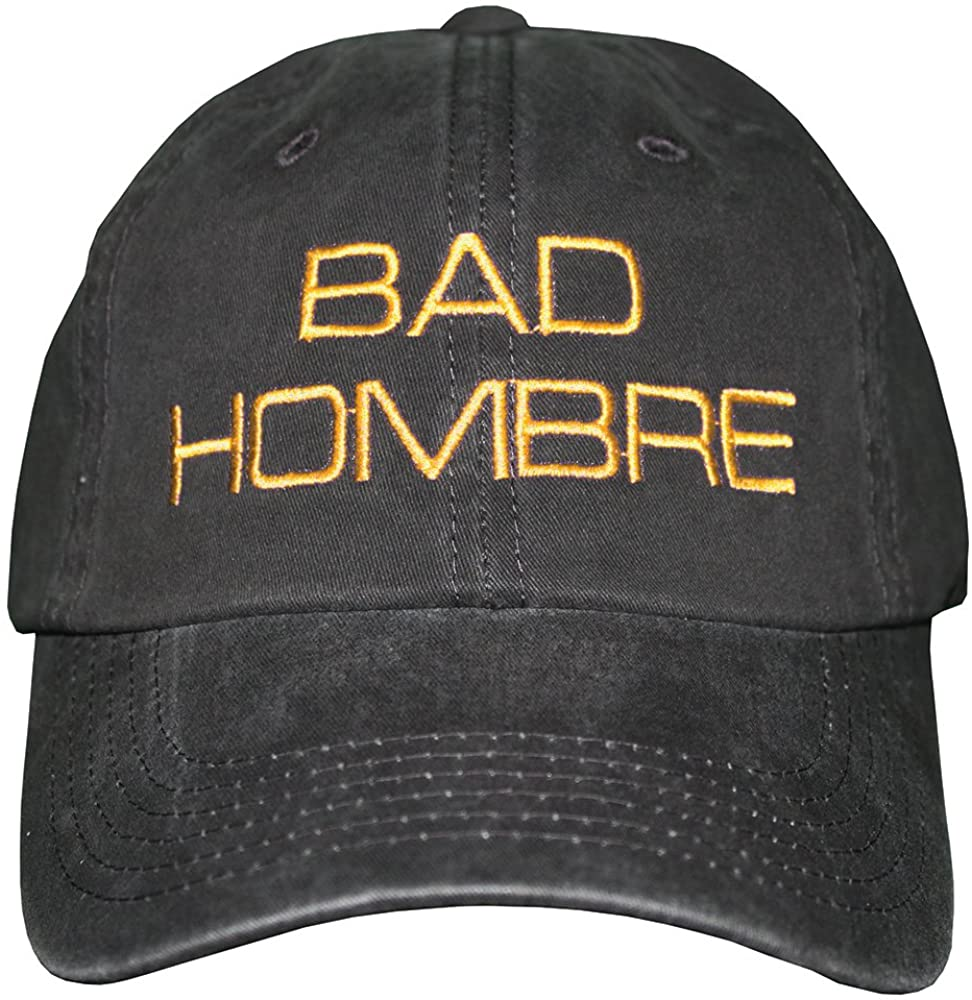 Treefrogg Apparel Bad Hombre Hat - Trump Cap - Various Thread Colors Available