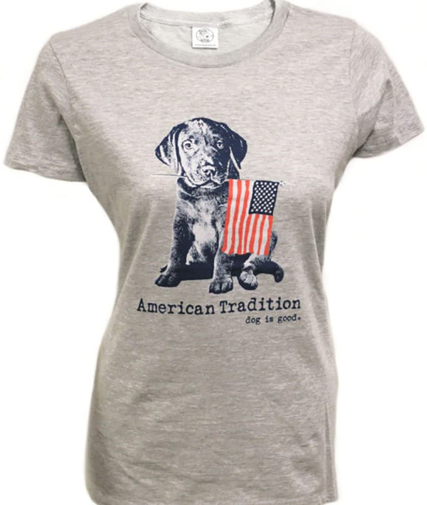 Dog is Good Women's American Tradition T-Shirt - Great Gift for Dog Lovers
