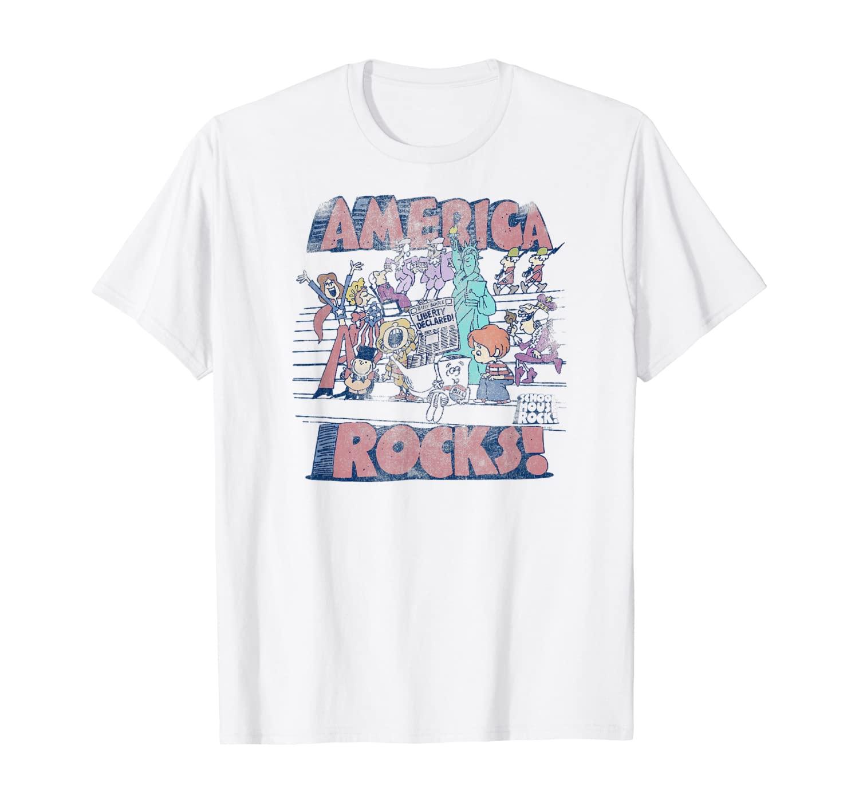 Schoolhouse Rock America Rocks T-shirt