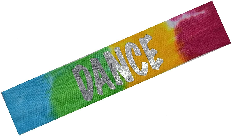 Funny Girl Designs Dance Headband Cotton Stretch Smooth Glitter Headband