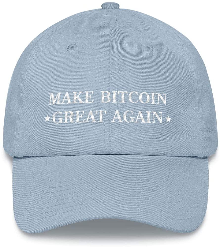 Hogue WS LLC Make Bitcoin Great Again Hat (Dad Cap)