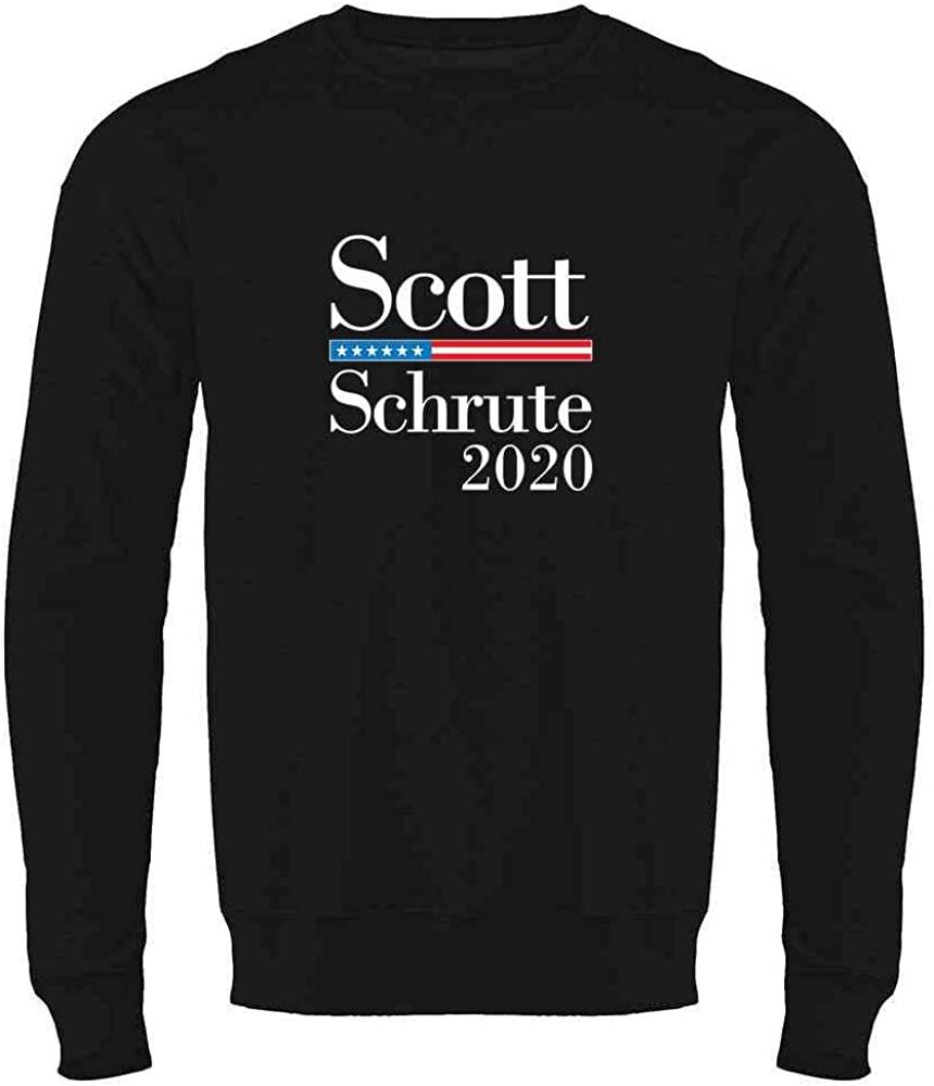 Pop Threads Workplace Office Humor Funny Merchandise TV Show Crewneck Sweatshirt for Men