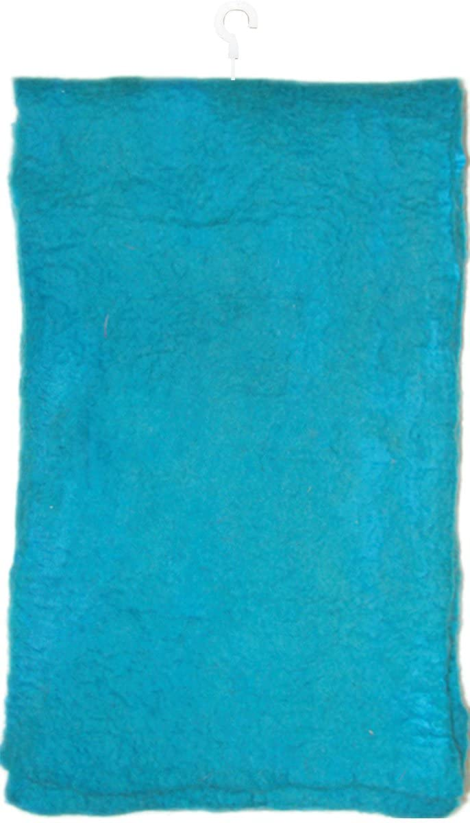Dimensions Feltworks 100% Merino Wool Scarf 7X66-Turquoise