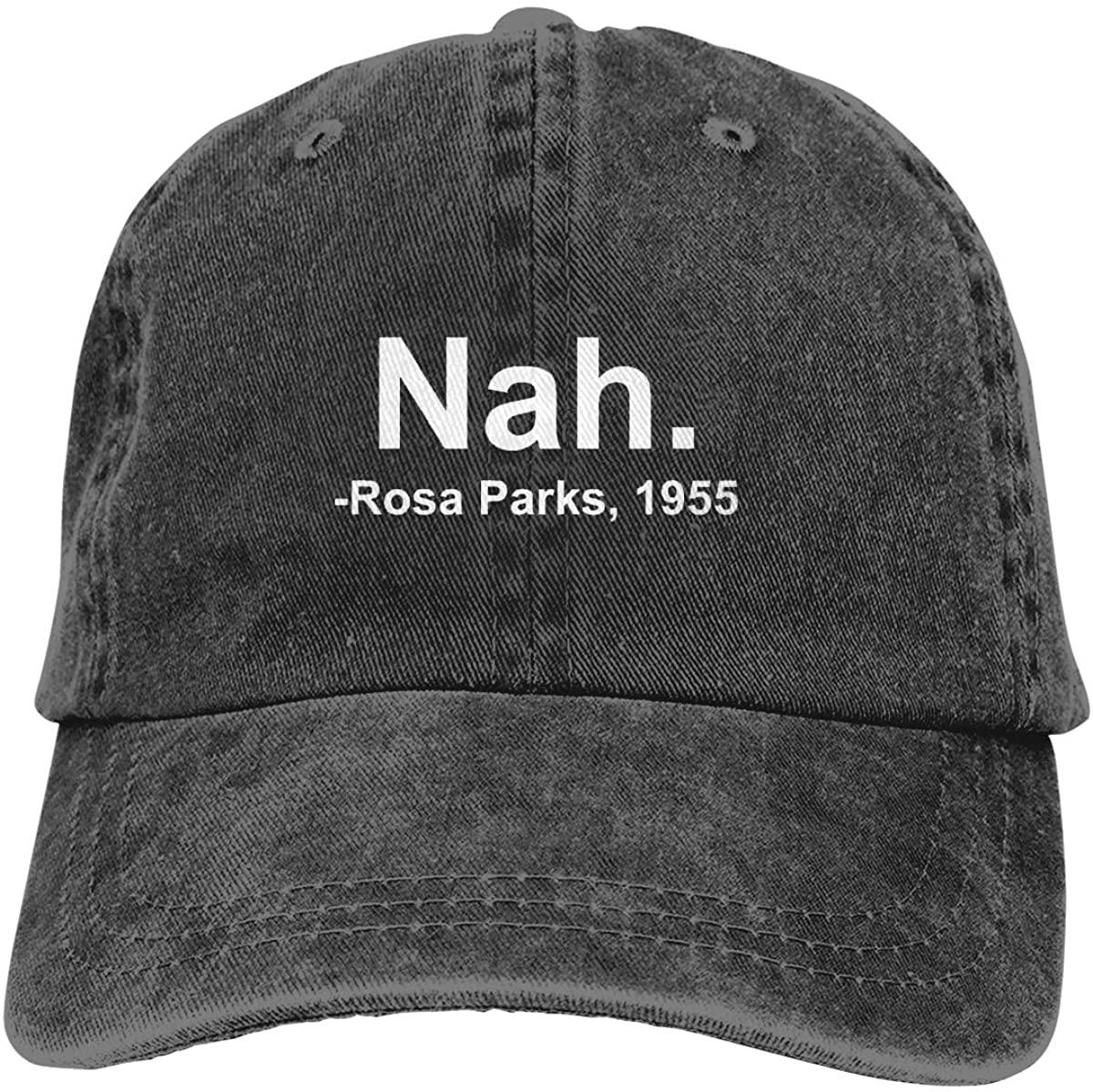 Denim Cap Nah. Rosa Parks, 1955 Baseball Dad Cap Classic Adjustable Sports for Men Women Hat