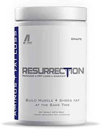 Atomic Strength Nutrition Resurrection – Pepino Limon – Build Muscle, Burn Fat – Premium Quality – Sugar Free, Fat Free, Gluten Free, Lactose Free – 8oz.