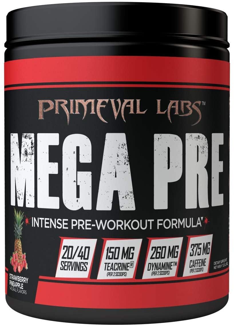 Mega Pre Black - New Formula (Strawberry Pineapple)