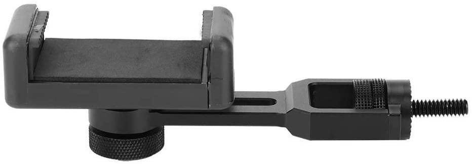 Bigking Gimbal Phone Holder,Aluminium Alloy Lightweight Rotation Smartphone Holder Clip Extension Bracket Mount for Feiyu G6 SPG2